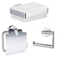 Toilettenpapierhalter & Feuchtpapierboxen