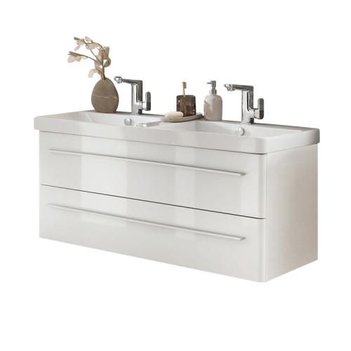 Lanzet k8 waschtisch mit unterschrank lz 1255 wt wtu 3 for Waschtisch mit unterschrank 120 cm