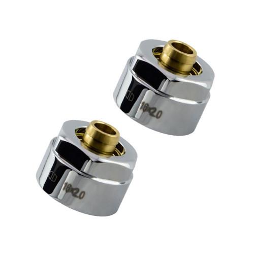 HSK Designheizkörper Klemmverschraubung - Set für PEX-Rohre