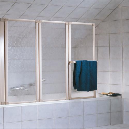 HSK Prima Badewannenaufsatz 3 bewegliche Elemente