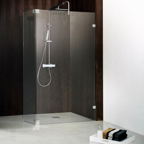 HSK Atelier Pur Walk In Dusche AP51 1 Glaselement mit beweglichem Seitenteil