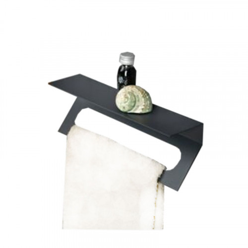 Lanzet Zubehör Handtuchhalter mit Ablageboard