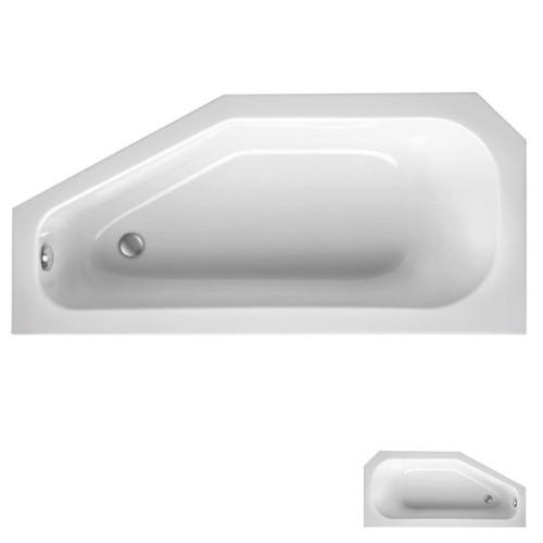 Mauersberger Bursea Raumspar Badewanne 160 cm rechts
