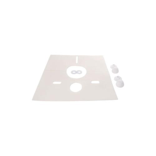 badshop.de Basic Schallschutzset für Wand-WC / Bidet