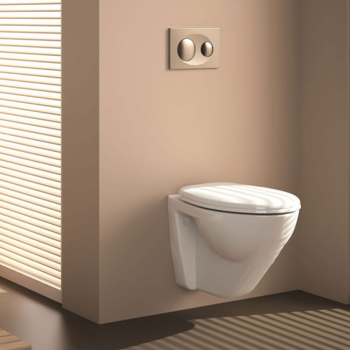 badshop.de Premium Classic WC-Set - Tiefspüler, spülrandlos - Ambiente