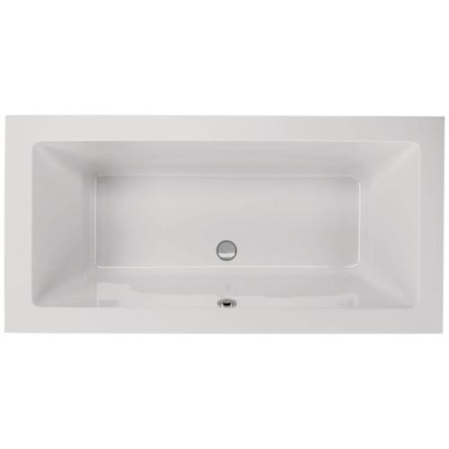 Schröder Wannentechnik Rechteck-Badewanne 180 cm
