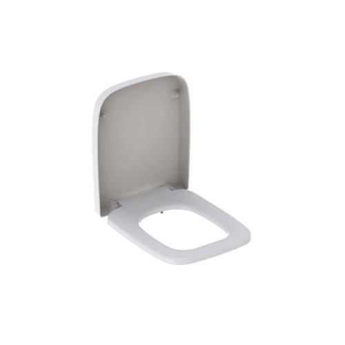 Geberit Renova Plan WC-Sitz ohne Absenkautomatik, weiß