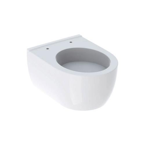 Geberit iCon Wand-WC Tiefspüler, Spülrand, verkürzte Ausladung, weiß