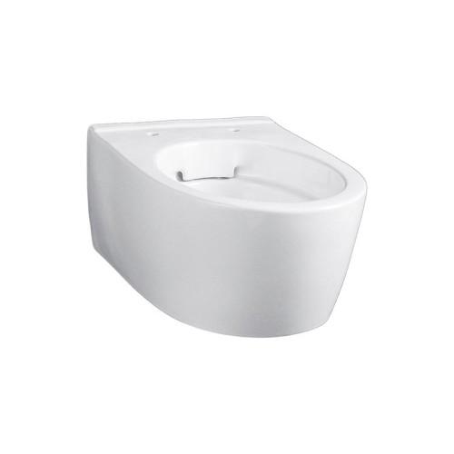 Geberit iCon Wand-WC Tiefspüler, spülrandlos, verkürzte Ausladung, weiß