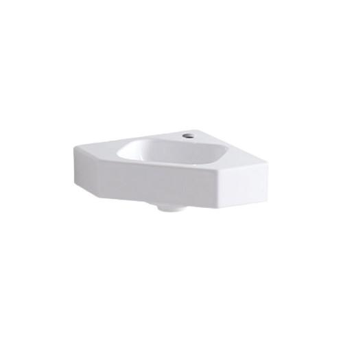Geberit iCon Waschtisch - Waschbecken Hahnloch, weiß