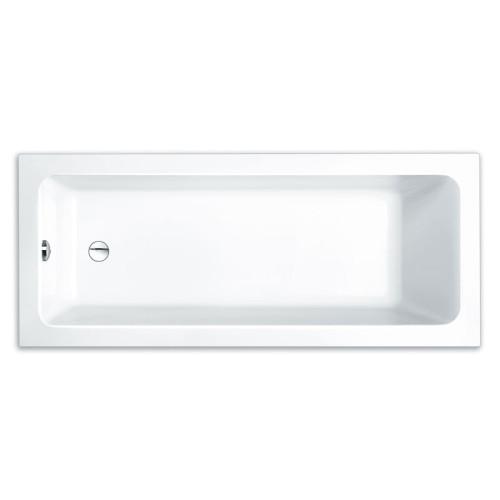Repabad Abano Rechteck-Badewanne - Mono 180/80 - Acryl - ca. 120 Liter