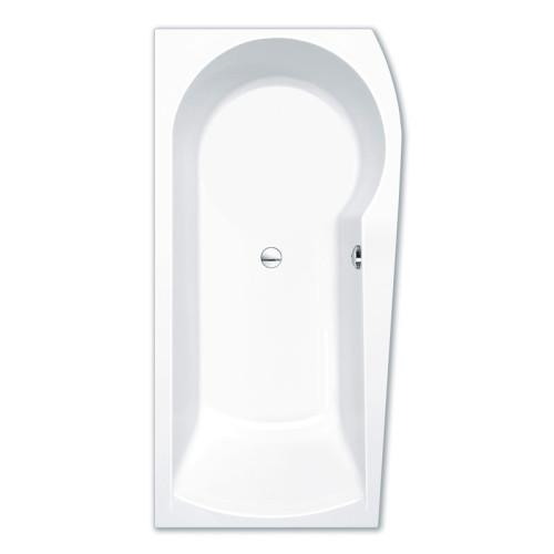 Repabad Arosa shower Raumspar-Badewanne - 170 links - Acryl - ca. 240 Liter