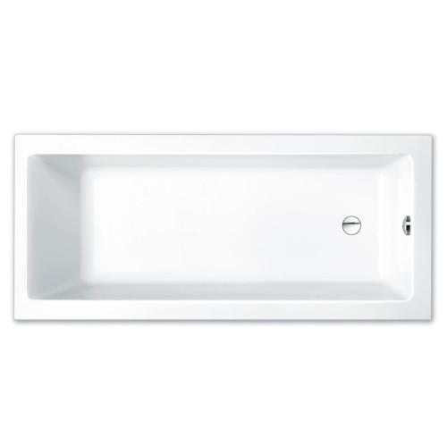 Repabad Genf Mono Rechteck-Badewanne - 180/80 - Acryl - ca. 220 Liter