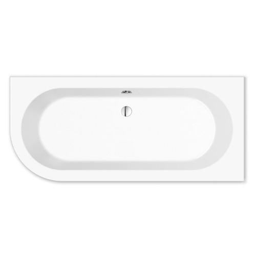 Repabad Livorno Freistehende Badewanne - 165/75 oval F links - Acryl