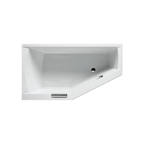 Riho Raumspar-Badewanne Geta Rechts - Acryl - 160 x 90 cm, Weiß