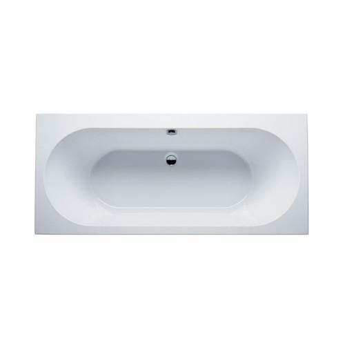 Riho Rechteck-Badewanne Carolina - Acryl - 170 x 80 cm, Weiß