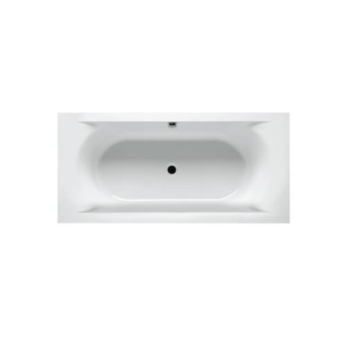 Riho Rechteck-Badewanne Lima - Acryl - 190 x 90 cm, 240 Liter, Weiß