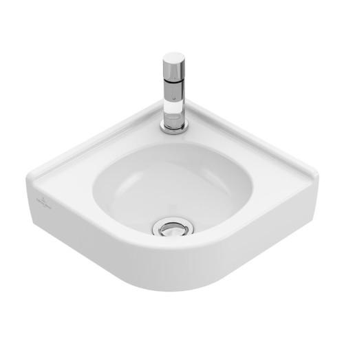 Villeroy und Boch O.novo Wandwaschtisch / Eck-Handwaschbecken - 32 cm