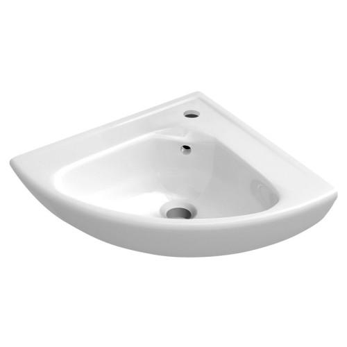 Villeroy und Boch O.novo Wandwaschtisch / Eck-Handwaschbecken - 41,5 cm