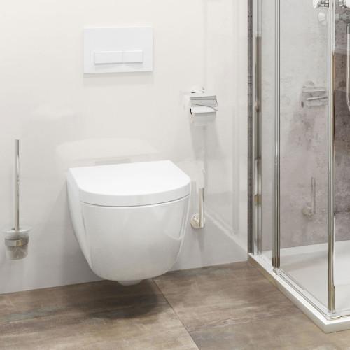 Nordholm Maresol WC - spülrandlos, weiß, mit Softclose Beispiel