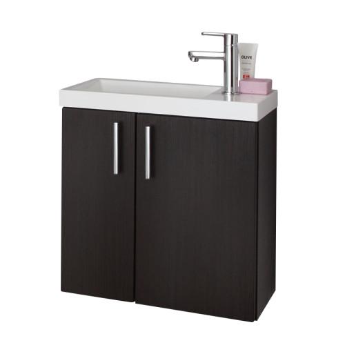 Puris For Guests Mineralguss WT und Waschtischunterschrank 50 cm