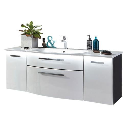 Puris Linea Waschtisch mit Unterschrank Set 3 131 cm
