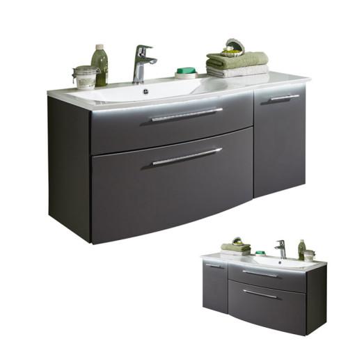 Puris Linea Waschtisch mit Unterschrank Set 5 101 cm