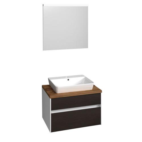 Puris Unique Badmöbel Set 1 - 70 cm mit Flächenspiegel