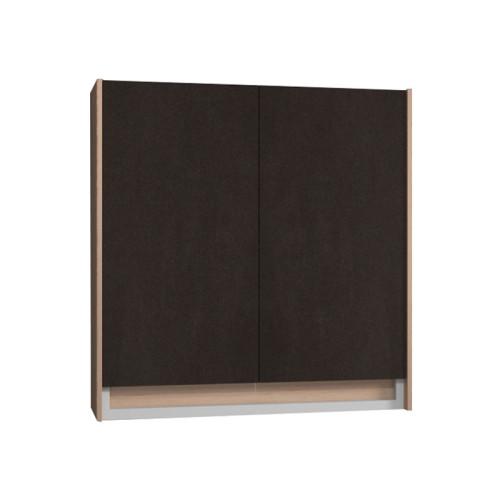 Puris Unique Oberschrank 60 cm mit 2 Türen inkl. Abdeckplatte
