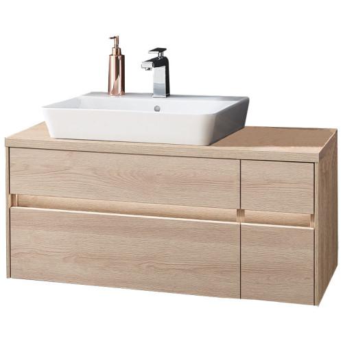 Puris Unique Waschtisch mit Unterschrank Set 5 - 102 cm links