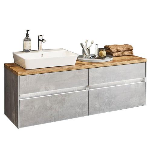 Puris Unique Waschtisch mit Unterschrank Set 7 - 142,6 cm