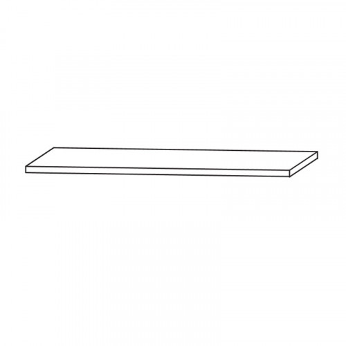 Puris Unique Waschtischplatte 122,6 cm Breite