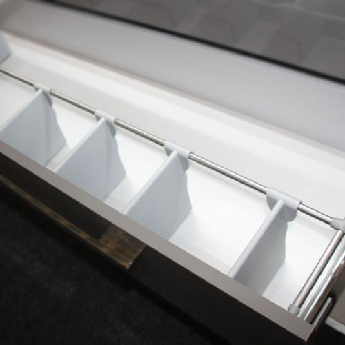 Puris Zubehör Einteilung - Ordnungssystem - für 70 cm Schrankbreite