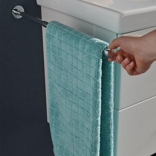 Puris Zubehör Handtuchhalter chrom, einarmig, ausziehbar