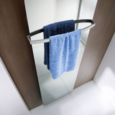 HSK Designheizkörper Handtuchhalter Softcube - 570 mm breit, gebogen