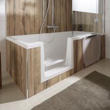 HSK Dobla Badewanne mit Tür / DuschWanne - 160 x 75 cm