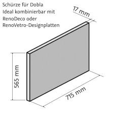 HSK Dobla Seitenschürze 75 cm