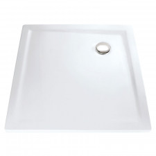 HSK Duschwanne Quadrat-Duschwanne 90x90 - superflach, Marmor-Polymer
