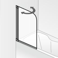 HSK Favorit Badewannenaufsatz 1 teilig