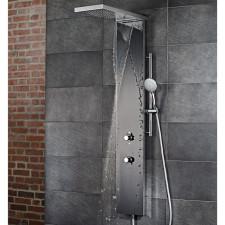 HSK Shower und Co Duschpaneel Lavida Plus - mit Schwallfunktion, Echtglas-Front