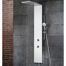 HSK Shower und Co Duschpaneel Lavida Plus - ohne Schwallfunktion, Echtglas-Front