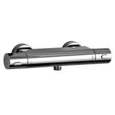 HSK Shower und Co Thermostat Aufputz / Sicherheits-Duschthermostat Basic Rund