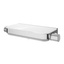 HSK Shower und Co Thermostat Unterputz - AquaTray, 3 Abgänge, Echtglas-Ablage