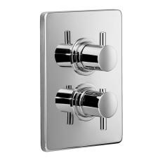 HSK Shower und Co Thermostat Unterputz - Sicherheitsthermostat Eckig