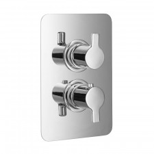 HSK Shower und Co Thermostat Unterputz - Sicherheitsthermostat Softcube chrom