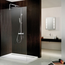 HSK Walk In Walk In Dusche Atelier Pur AP.78 - Glaselement ohne Bohrungen  und Zubehör, passend zu Lavida Duschpaneel- B: bis 1600 H: bis 2200 T: -