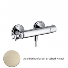Hansgrohe Axor Montreux Thermostat Aufputz  Aufputz brushed nickel