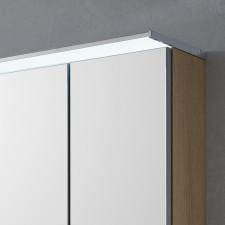 Laguna Spiegelschränke Aufbau- u. Aufsatzleuchte - 140 cm, eckig