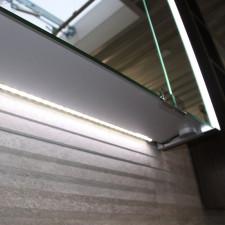 Laguna Spiegelschränke LED Waschtischbeleuchtung - 56 cm