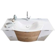 Laguna modern classic Waschtisch mit Unterschrank - Set 4 - 131,2 cm
